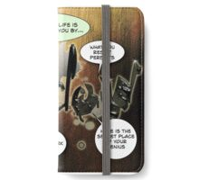 This month your life is sponsored by your Shadow iPhone Wallet/Case/Skin