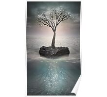 The Roots Below the Earth (Tree of Solitude) Poster