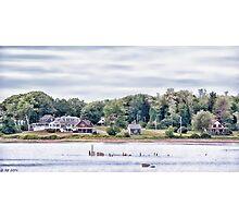 Living on a Maine Island Photographic Print