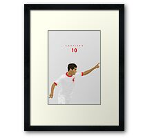 Talent is Timeless (Away from Home) Framed Print