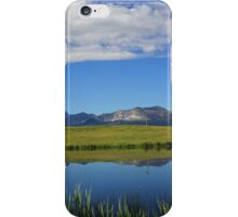 Reflections of the Rockies iPhone Case/Skin