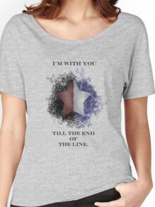 I'm with you till the end of the line Women's Relaxed Fit T-Shirt