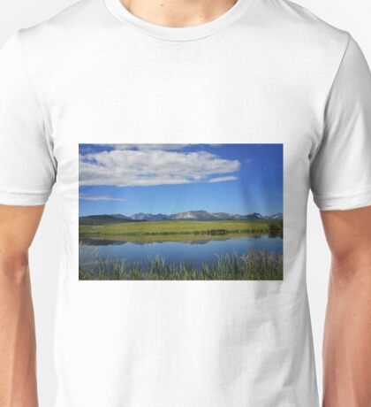 Reflections of the Rockies Unisex T-Shirt