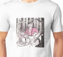 Lumberjack Who Makes Scented Candles Unisex T-Shirt