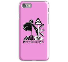 Pinkeye Illustrations - BE THE AD iPhone Case/Skin