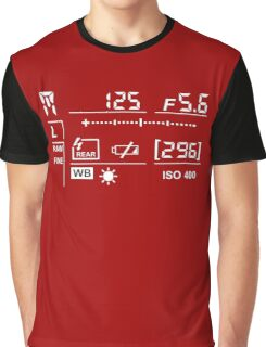 Camera Display  Graphic T-Shirt