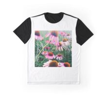 Purple Coneflowers Graphic T-Shirt