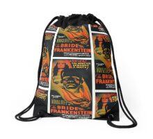 The Bride of Frankenstein Drawstring Bag