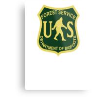 US Forest Service Bigfoot  Metal Print