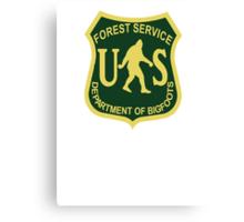 US Forest Service Bigfoot  Canvas Print