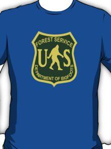 US Forest Service Bigfoot  T-Shirt