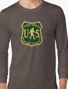 US Forest Service Bigfoot  Long Sleeve T-Shirt