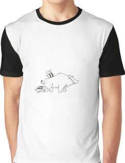 Boar Family Biddys,  Graphic T-Shirt