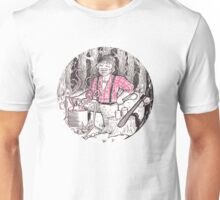 Lumberjack Who Makes Scented Candles - Circle Unisex T-Shirt