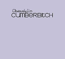 Obviously I'm Cumberbitch by morigirl