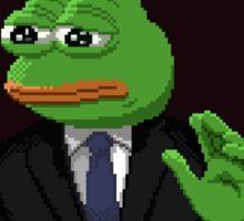 Persecuted pepe Sticker