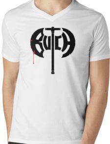 Butch Axe (black) Mens V-Neck T-Shirt