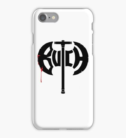 Butch Axe (black) iPhone Case/Skin