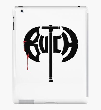 Butch Axe (black) iPad Case/Skin