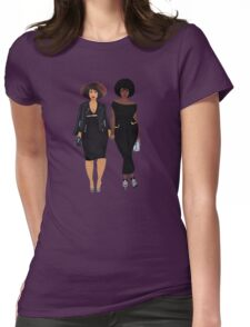 Fro Chicks  Womens Fitted T-Shirt