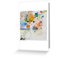 Abstract composition 476 Greeting Card