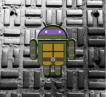 TMNT Droid Donatello by LumpyHippo
