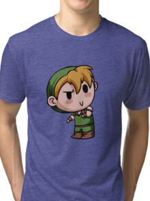 Final Fantasy Chibies - Theif! Tri-blend T-Shirt