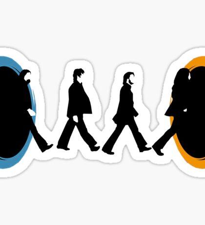 Beatles Portal Sticker