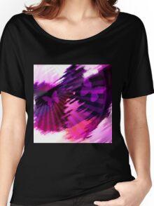 Flight of the butterflies at sunset .  Women's Relaxed Fit T-Shirt