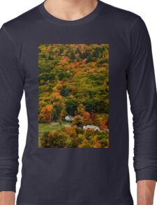 Colorful New Hampshire  Long Sleeve T-Shirt