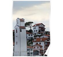 Charming Sea Side Town - Basque country, France. Poster