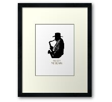 The Big Man Framed Print