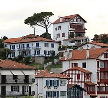 Charming Sea Side Town II - Basque country, France. by Tiffany Lenoir