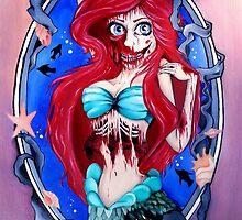 Ariel Zombie by GabbyLettieri