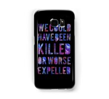 OR WORSE (painted) Samsung Galaxy Case/Skin