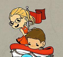 Team Arrow Goes - Oliver&Felicity  by TheKeyThief