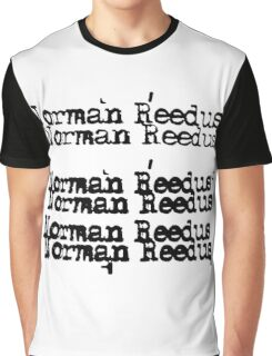 Norman Reedus/Cheap Trick Graphic T-Shirt
