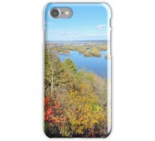 Autumn on the Mississippi River  iPhone Case/Skin