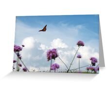 Flying off to Dreamland Greeting Card