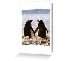 I Want to Hold Your Hand Greeting Card