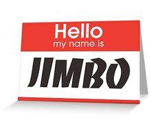 JIMMY NEUTRON Greeting Card