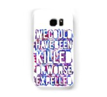 OR WORSE (outline - painted) Samsung Galaxy Case/Skin