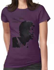Gil Scott - Heron Womens Fitted T-Shirt