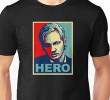 Julian Assange 'Hero' Unisex T-Shirt