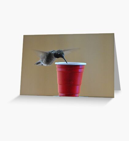 The Drink Greeting Card