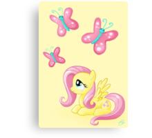 Fluttershy - Cutie mark Canvas Print