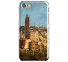 Abandoned refinery iPhone Case/Skin