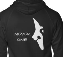 Kindred - Wolf - NEVER ONE Zipped Hoodie