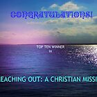 Reaching Out: Top Ten Banner by Kathryn Jones