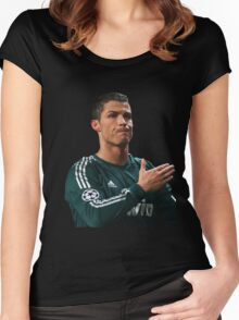 cristiano ronaldo cr7 Women's Fitted Scoop T-Shirt